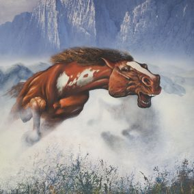 Λεπτομέρεια του Mustang 300x200cm