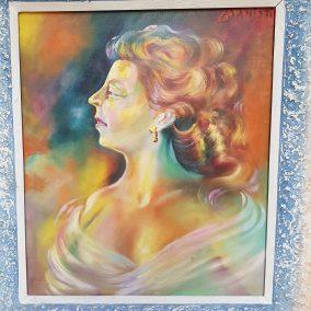 Πορτραίτο της γυναίκας του Δημήτρη Μανιώτη